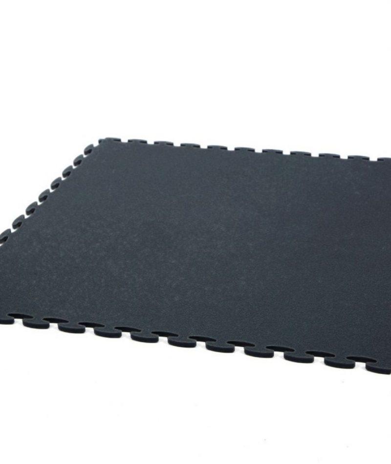 Black Duralock machine area gym pvc flooring tile