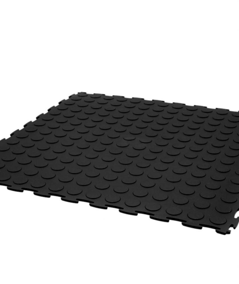 Black studlock machine area gym pvc flooring tile