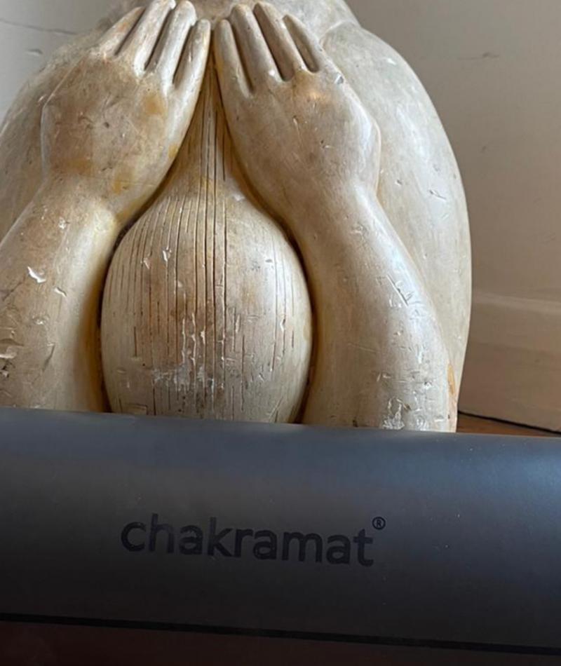 Chakramat yoga mat rubber matting for men gym studio