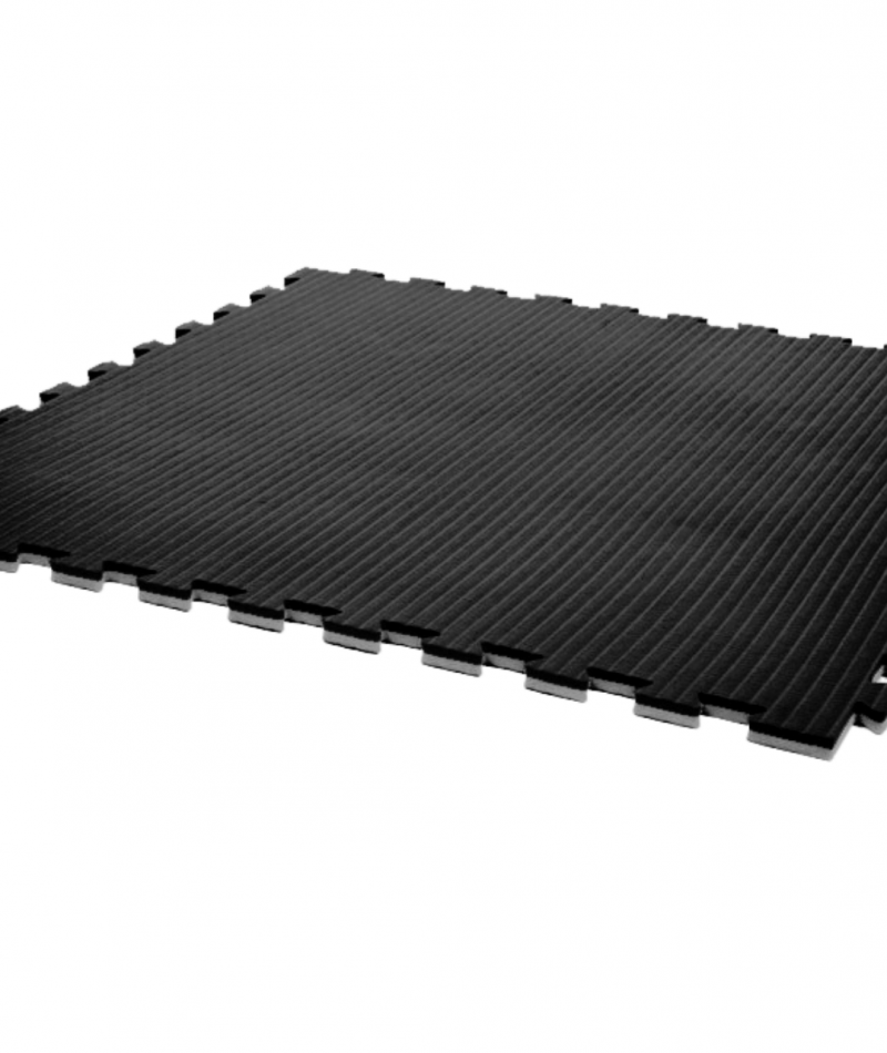 Essential 20mm exercise mats black grey