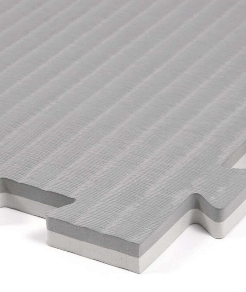 Essential 20mm exercise mats slate grey closeup