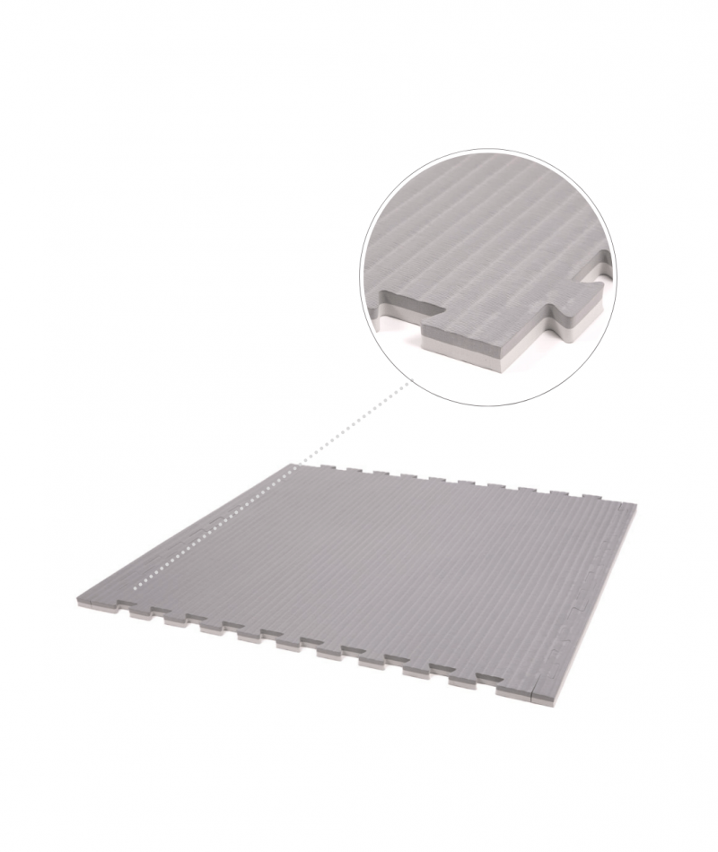 Essential 20mm exercise mats slate grey main