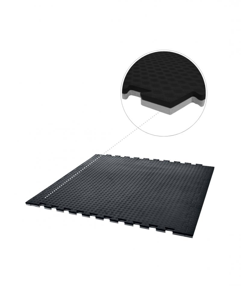GMD mma mats premium 20cm floor eva mat black grey reversible mats