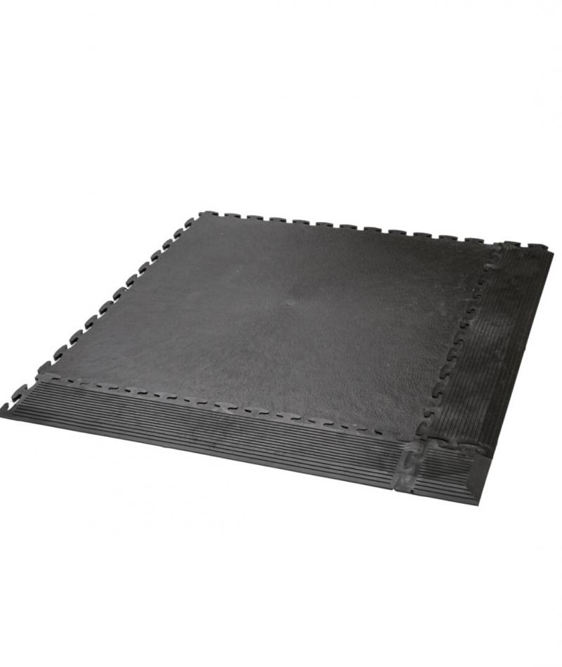 GMD pvc vinyl gym floor tile side ramps set