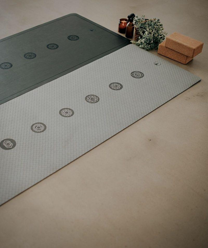 Yoga flooring mats chakramat
