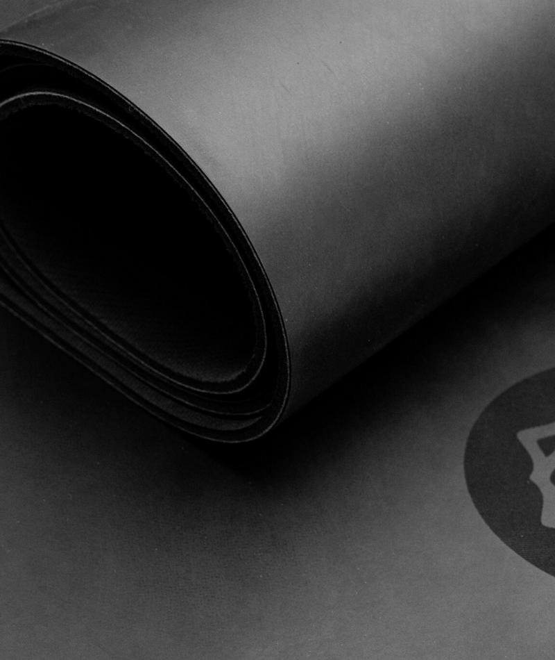 chakra Yoga Mat rubber vegan non-slip classic