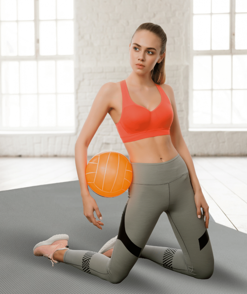 thick padded phisyo fitness mat